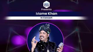 Mame Khan In Concert