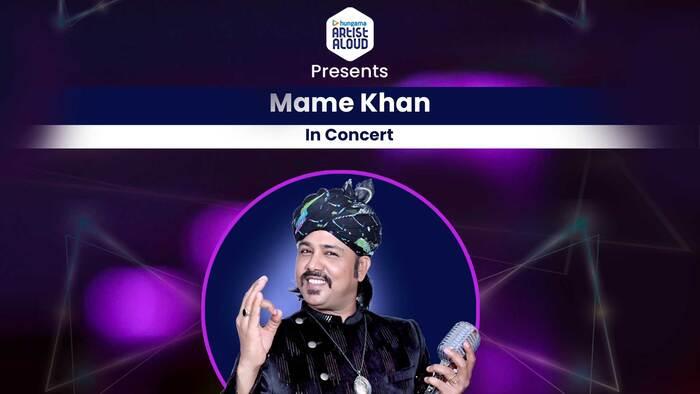 Mame Khan In Concert