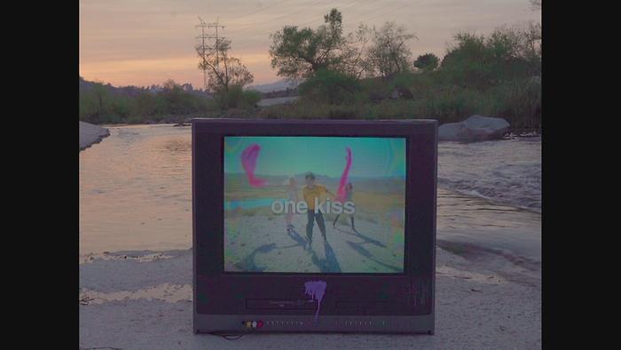 One Kiss Lyric Video