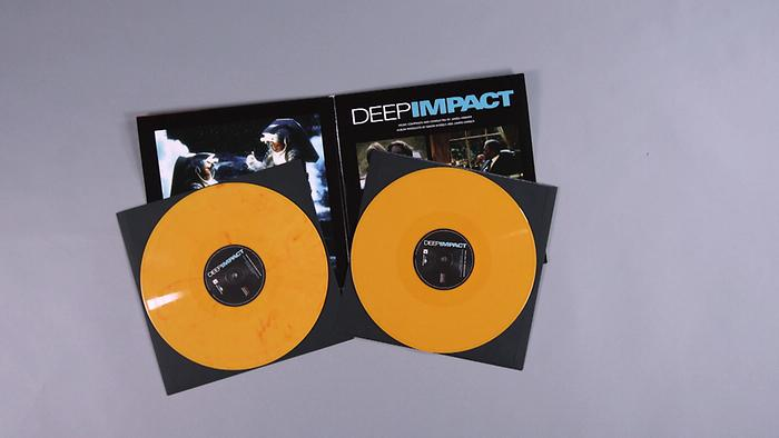 Vinyl Unboxing James Horner  Deep Impact  Music from the Motion Picture