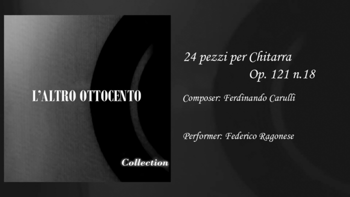 24 pezzi per Chitarra Op 121 n18