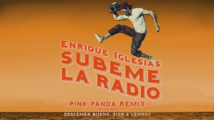 SUBEME LA RADIO Pink Panda Remix Lyric Video