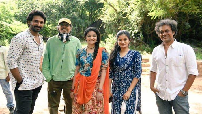 Keerthy Suresh Finished Good Luck Sakhi Shooting