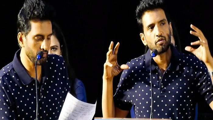 Santhanam Talks About A1 Movie Director