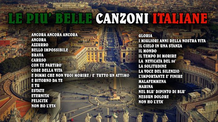 LE PIU BELLE CANZONI ITALIANE
