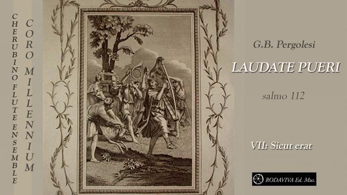 LAUDATE PUERI  VII