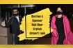 Katrina Kaif And Ranveer Singh Nail Uber Stylish Airport Look
