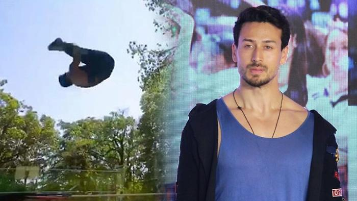 Tiger Shroff Misses Air Flips Outside Shares Throwback Video
