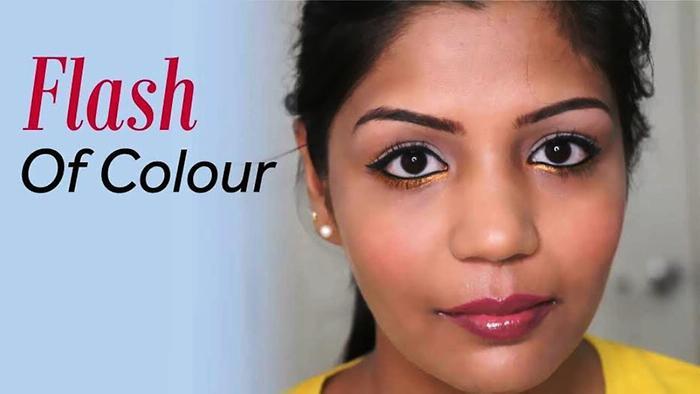 Flash of Colour Summer Makeup Tutorial