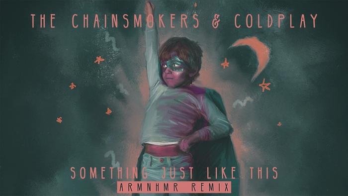 Something Just Like This ARMNHMR Remix  Pseudo Video