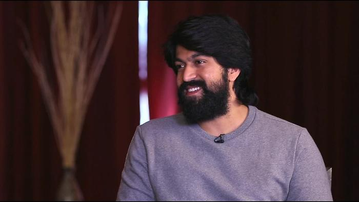 Yash On KGF