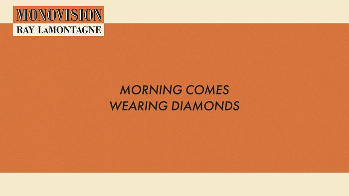 Morning Comes Wearing Diamonds Lyric Video