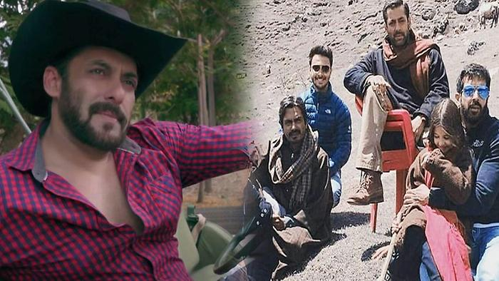 Salman Khan Chills With Bajrangi Bhaijaan Cast