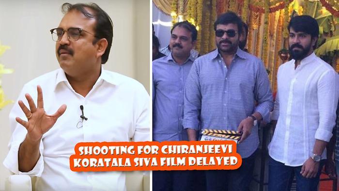 Shooting For Chiranjeevi Koratala Siva Film Delayed