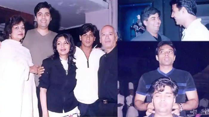 Karan Johar Looks Taller Than Shahrukh In Epic Throwback Pics