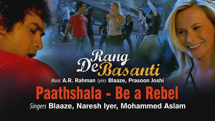 Paathshala  Be a Rebel Pseudo Video