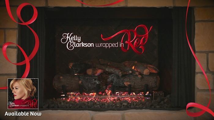 Underneath the Tree Kellys Wrapped In Red Yule Log Series