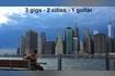 LIVE IMPRESSIONS - 3 gigs  2 cities  1 guitar - New York  Toronto