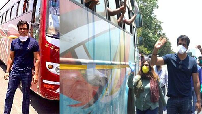 Sonu Sood Helped Migrant Workers
