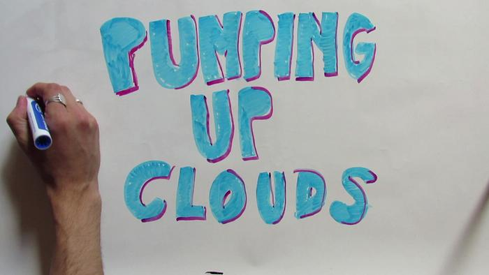 Pumping Up Clouds A Drawing By Urban Cone