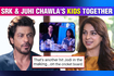 Shah Rukh's Son Aryan Khan and Juhi Chawla's Daughter Jahnavi Together For IPL Auction Fans Go Crazy