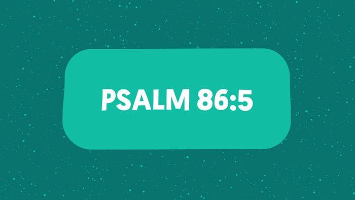 Psalm 865 Lyric Video