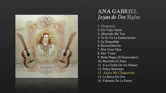 Adiós Mi Chaparrita Cover Audio