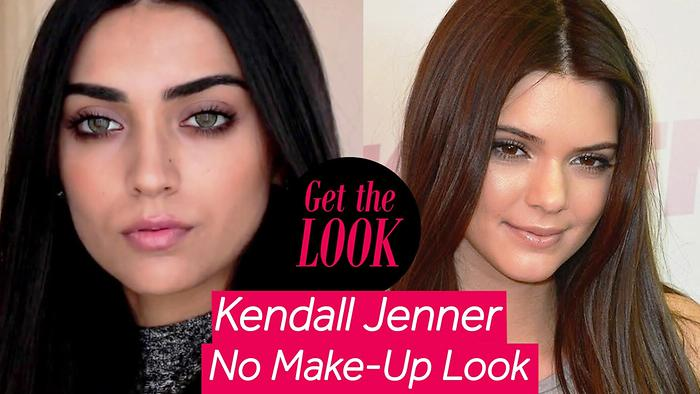 Kendall Jenner Inspired No Makeup Look Get The Look Lizah