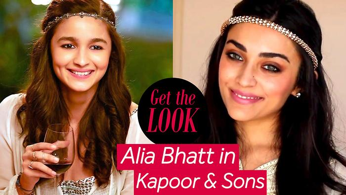 Get The Look  Alia In Kapoor  Sons