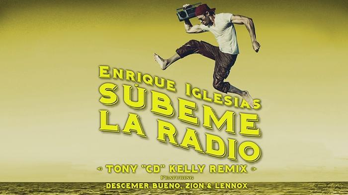 SUBEME LA RADIO Tony CD Kelly Remix Lyric Video