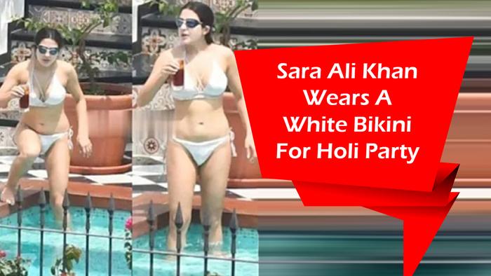Hot White Bikini