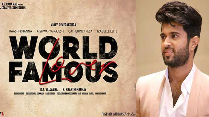 Vijay Devarakondas Next Is World Famous Lover