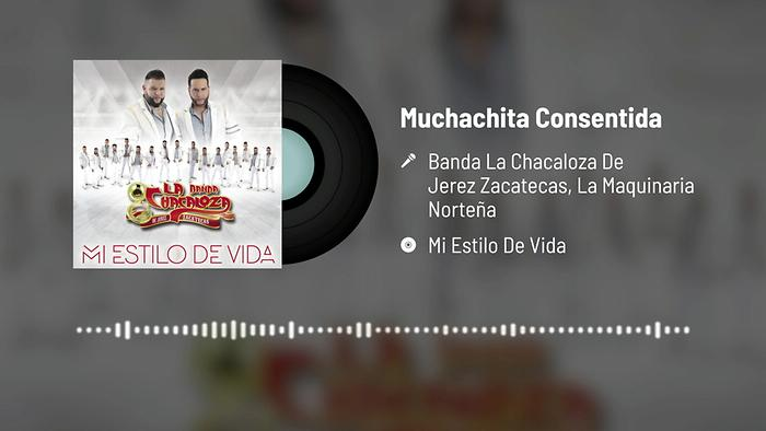 Muchachita Consentida Audio
