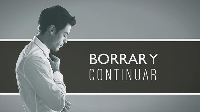 Borrar y Continuar Cover Audio