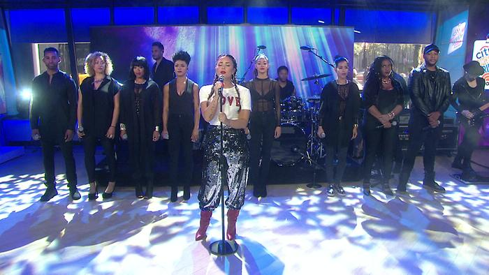 Tell Me You Love Me Live On The Today Show