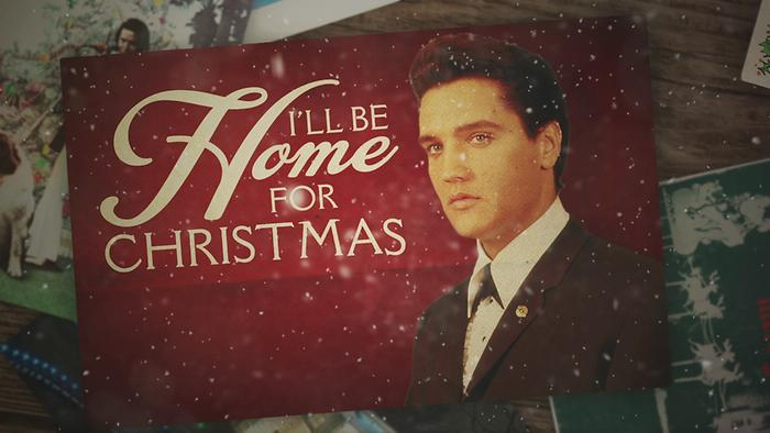 Ill Be Home for Christmas Lyric video