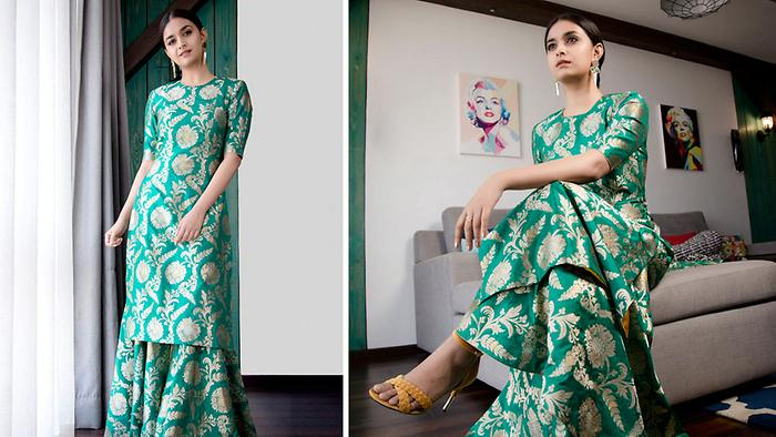 Keerthy Suresh Stuns With New Look