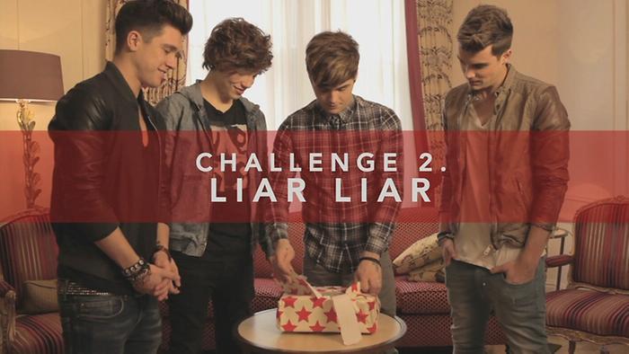Challenge Union J  Liar Liar