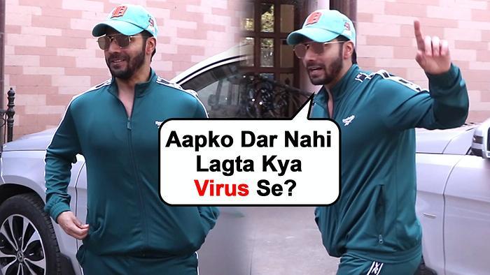Corona Virus  Varun Dhawans Sweet Gesture For Media Reporters Working For Stars