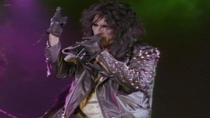 Poison from Alice Cooper Trashes the World