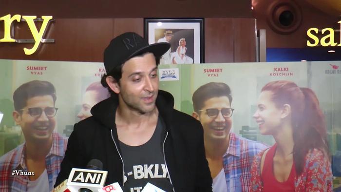 Hrithik Roshan At Ribbon Movie Screening