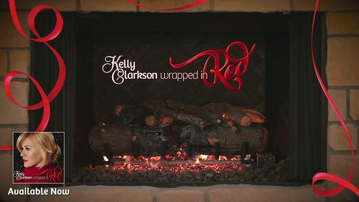 Have Yourself a Merry Little Christmas Kellys Wrapped In Red Yule Log Series