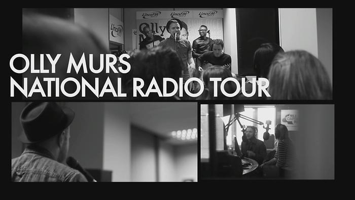 Olly Murs  Radio Tour