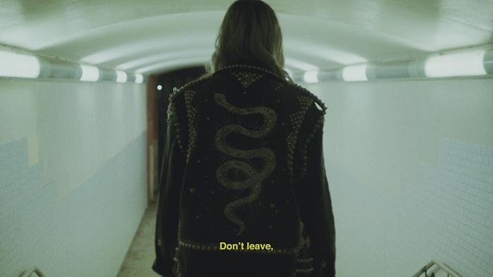 Dont Leave Official Lyric Video