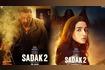 Alia Bhatt,Sanjay Dutt Plays With Fire In Posters Of Sadak 2