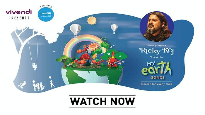 Ricky Kej  My Earth Concert for Kids