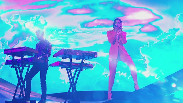 One Kiss Live on The Graham Norton Show