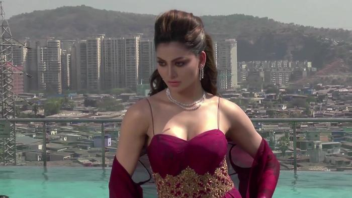 Urvashi Rautela Sensuous  Sexy Bridal Cover Shoot For Wedding Vows Magazine