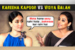 Kareena Kapoor SLAMMED Vidya Balan Said FAT Is Not Sexy Vidya's Epic Reaction