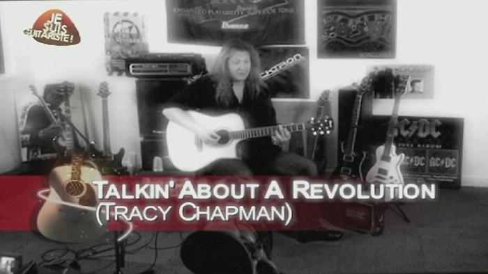 Talkin Bout a Revolution rendu célèbre par Tracy Chapman